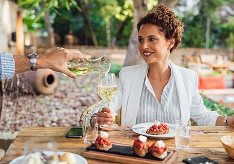 Bruschetta and Wine Pairing