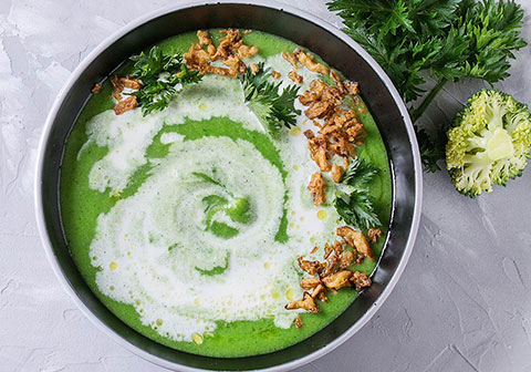 Fresh and Healthy Spinach Soup